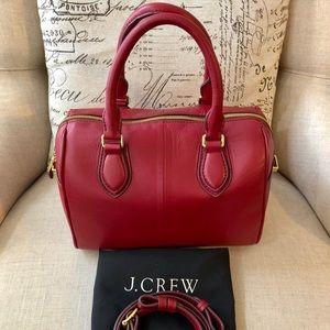 J. Crew Shelby Leather Satchel